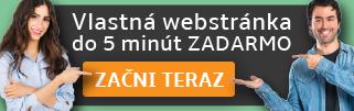 tvorba internetovej webstránky zadarmo
